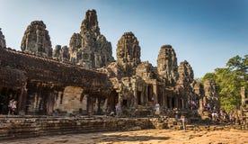 Angkor Thom, Siem Reap, Камбоджа стоковая фотография