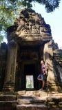 Angkor Thom , Siem Reap Cambodia Stock Photo