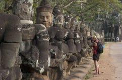 Angkor Thom. Siem Reap. Cambodia Stock Photos