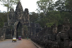 Angkor Thom. Siem Reap. Cambodia Royalty Free Stock Photography