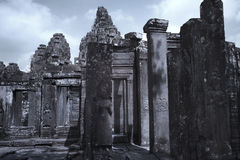 Angkor thom Siem reap Cambodia Royalty Free Stock Images