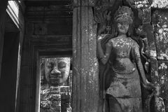 Angkor thom Siem reap Cambodia Royalty Free Stock Photos