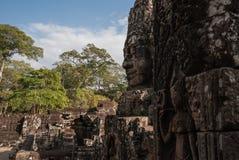 Angkor thom, siemreap, Καμπότζη Στοκ Φωτογραφία