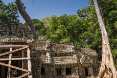 Angkor Thom, Siemreap, Cambodia. Royalty Free Stock Images
