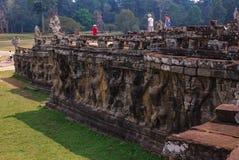Angkor Thom, siemreap, Camboya foto de archivo
