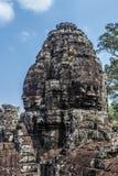 Angkor Thom Temple Cambodia Royaltyfri Bild