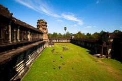 Angkor Thom temple complex Royalty Free Stock Photography