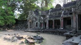 Angkor Thom temple complex, Siem Reap, Cambodia Royalty Free Stock Images