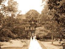 Angkor Thom temple stock image