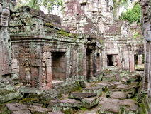 Angkor Thom temple stock images