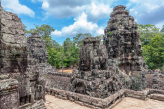 Angkor Thom Temple Royalty Free Stock Image