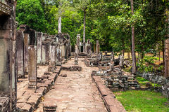 Angkor Thom Temple Stock Photos