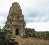 Angkor Thom temple Royalty Free Stock Photography