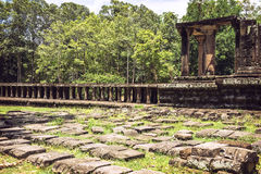 Angkor Thom Temple view, Siem reap, Cambodia Stock Images