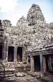 Angkor Thom Temple view, Siem reap, Cambodia Stock Photos