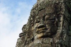 Angkor Thom VI Royaltyfria Foton