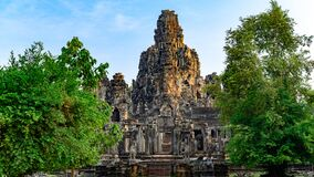 Angkor Thom, Khmer Temple, Siem Reap, Cambodia. Angkor Thom was the last and most enduring capital city of the Khmer empire.