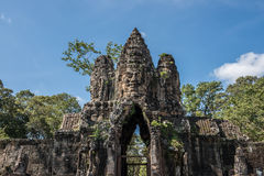 Angkor Thorm Temple Stock Images
