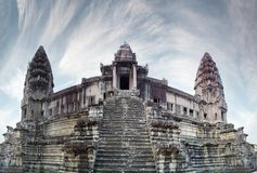 Angkor towers Royalty Free Stock Photography