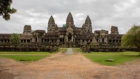 Angkor tylny wejście Wat, Zdjęcia Royalty Free