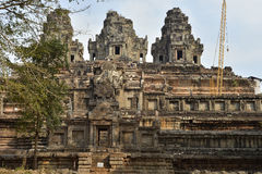 Angkor Under Repair Stock Photos