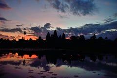 Angkor vat Arkivfoton