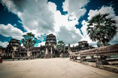 Angkor Vat, Cambodge Images stock