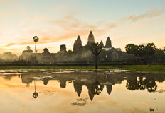Angkor Vat, Cambodge Photos libres de droits