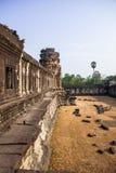 Angkor Vat Kambodia Royaltyfri Bild