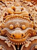 Angkor Vat - temple de Banteay Srei Image libre de droits