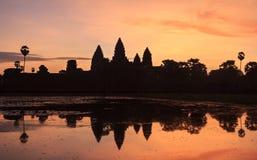 Angkor vat temple Royalty Free Stock Photography