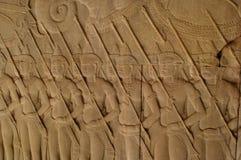 Angkor warrior Royalty Free Stock Photo