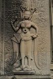 Angkor Wat—Apsaras Dancers in Cambodia Stock Images