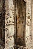 Angkor Watâ€' Apsaras tancerze w Kambodża Fotografia Royalty Free