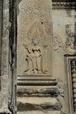 Angkor Watâ€' Apsaras tancerze w Kambodża Obrazy Stock