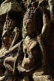 Angkor Watâ€' Apsaras tancerze w Kambodża Zdjęcie Royalty Free