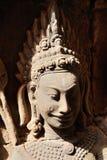 Angkor Watâ€' Apsaras tancerze w Kambodża obraz stock