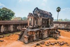Angkor Wat寺庙, Siem Reap,柬埔寨 免版税库存照片