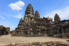 Angkor wat,柬埔寨 库存图片