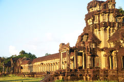Angkor Wat,柬埔寨 免版税库存图片