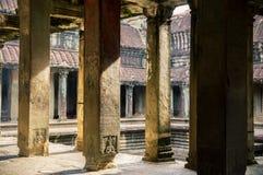 Angkor Wat świątynia, Kambodża Obrazy Stock
