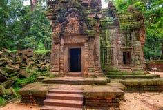Angkor Wat - ένας γιγαντιαίος ινδός ναός σύνθετος στην Καμπότζη, που αφιερώνεται στο Λόρδο Vishnu Στοκ Εικόνες