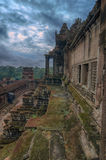 Angkor Wat - ένας γιγαντιαίος ινδός ναός σύνθετος στην Καμπότζη Στοκ εικόνες με δικαίωμα ελεύθερης χρήσης