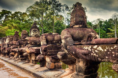 Angkor Wat - ένα από τα 7 αναρωτιέται του κόσμου, Καμπότζη Στοκ φωτογραφίες με δικαίωμα ελεύθερης χρήσης