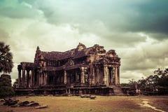 Angkor Wat - ένα από τα 7 αναρωτιέται του κόσμου, Καμπότζη Στοκ φωτογραφία με δικαίωμα ελεύθερης χρήσης