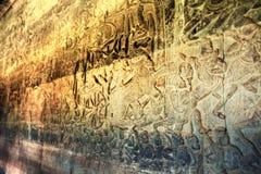 Angkor Wat - ένα από τα 7 αναρωτιέται του κόσμου, Καμπότζη Στοκ Εικόνες
