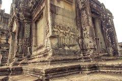 Angkor Wat - ανακούφιση Bas Στοκ εικόνες με δικαίωμα ελεύθερης χρήσης