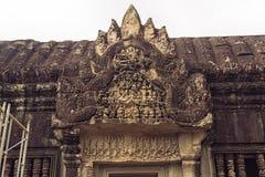 Angkor Wat - ανακούφιση Bas Στοκ φωτογραφίες με δικαίωμα ελεύθερης χρήσης