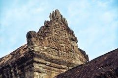 Angkor Wat - ανακούφιση Bas Στοκ Φωτογραφίες