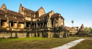 Angkor Wat, βουδιστικός ναός σύνθετος στην Καμπότζη Στοκ φωτογραφίες με δικαίωμα ελεύθερης χρήσης